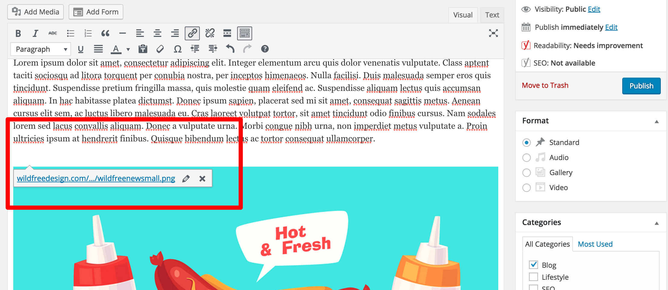 wordpress-formatting